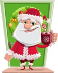 Santa Jolly Bells - Shape 10