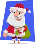 Santa Jolly Bells - Shape 11