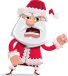 Santa Jolly Bells - Angry