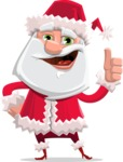 Santa Jolly Bells - Thumbs up