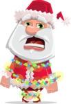 Santa Jolly Bells - Christmas Lights