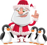Santa Jolly Bells - Penguins