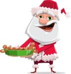 Santa Jolly Bells - Making Cookies