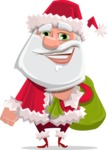 Santa Jolly Bells - Sack With Gifts 2
