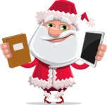 Santa Jolly Bells - Book Or Tablet
