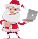Santa Jolly Bells - Laptop