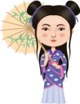 Feminine Chinese Lady