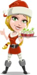Mary Mistletoe - Christmas Muffins