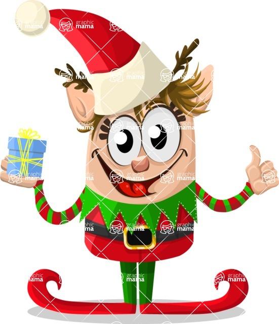 Christmas Vectors - Mega Bundle - Christmas Elf 1