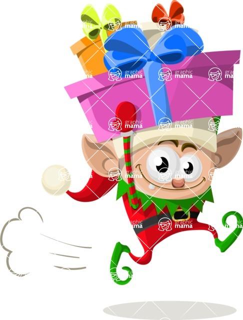 Christmas Vectors - Mega Bundle - Christmas Elf 4