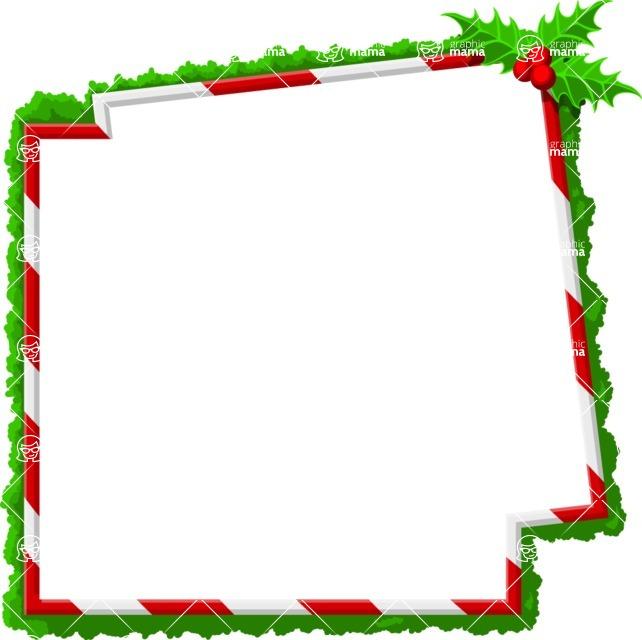 Christmas Vectors - Mega Bundle - Christmas Frame 19