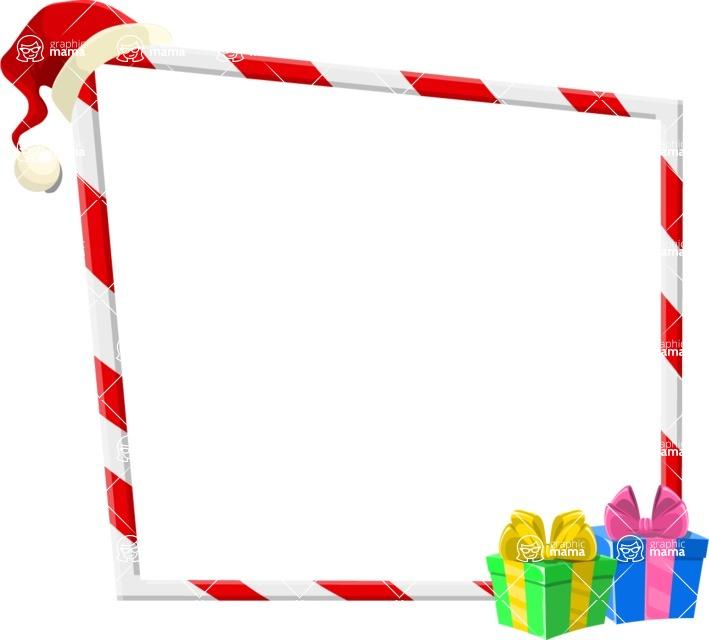 Christmas Vectors - Mega Bundle - Christmas Frame 7
