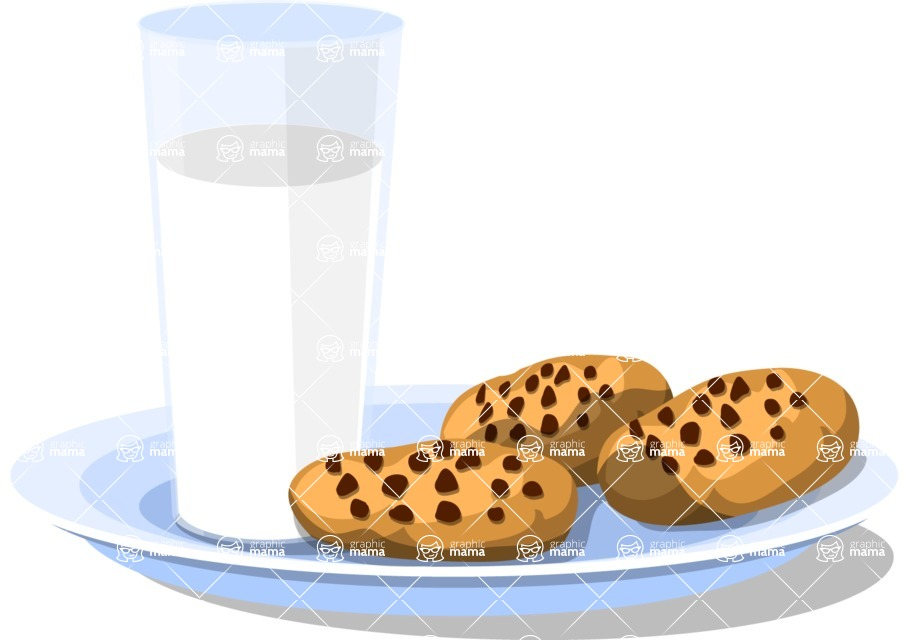 Christmas Vectors - Mega Bundle - Cookies and Milk