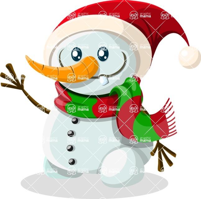 Christmas Vectors - Mega Bundle - Snowman 2