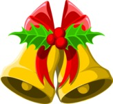 Christmas Vectors - Mega Bundle - Christmas Bells