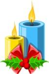 Christmas Vectors - Mega Bundle - Christmas Candles