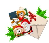 Christmas Vectors - Mega Bundle - Christmas Card and Envelope