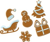 Christmas Vectors - Mega Bundle - Christmas Cookies