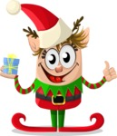 Christmas Vectors - Mega Bundle - Christmas Elf 1
