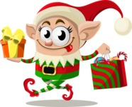 Christmas Vectors - Mega Bundle - Christmas Elf 5