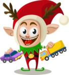 Christmas Vectors - Mega Bundle - Christmas Elf 7
