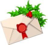 Christmas Vectors - Mega Bundle - Christmas Envelope