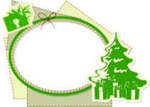 Christmas Vectors - Mega Bundle - Christmas Frame 11