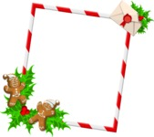 Christmas Vectors - Mega Bundle - Christmas Frame 12