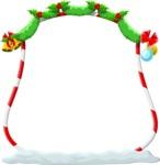 Christmas Vectors - Mega Bundle - Christmas Frame 16