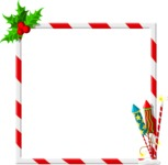 Christmas Vectors - Mega Bundle - Christmas Frame 3