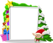 Christmas Vectors - Mega Bundle - Christmas Frame 9