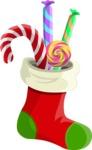 Christmas Vectors - Mega Bundle - Christmas Sock