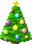 Christmas Vectors - Mega Bundle - Christmas Tree