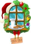 Christmas Vectors - Mega Bundle - Christmas Window