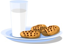 Christmas Vectors - Mega Bundle - Cookies and Milk