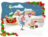 Christmas Vectors - Mega Bundle - Elves at the North Pole