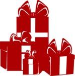 Christmas Vectors - Mega Bundle - Gift Boxes Silhouette