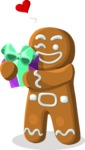 Christmas Vectors - Mega Bundle - Gingerbread Man 2