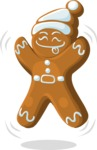 Christmas Vectors - Mega Bundle - Gingerbread Man 3