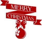 Christmas Vectors - Mega Bundle - Merry Christmas Badge