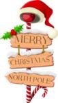 Christmas Vectors - Mega Bundle - Merry Christmas Sign