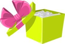Christmas Vectors - Mega Bundle - Open Gift Box