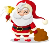 Christmas Vectors - Mega Bundle - Santa Claus 3