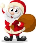 Christmas Vectors - Mega Bundle - Santa Claus 5