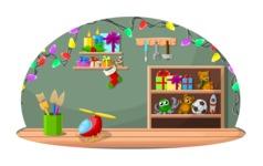 Christmas Vectors - Mega Bundle - Santa's Workshop