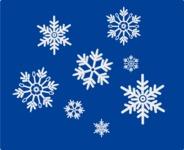 Christmas Vectors - Mega Bundle - Snowflakes