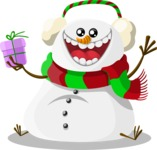 Christmas Vectors - Mega Bundle - Snowman 1