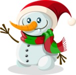 Christmas Vectors - Mega Bundle - Snowman 2