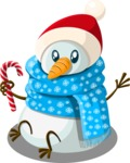 Christmas Vectors - Mega Bundle - Snowman 4