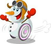 Christmas Vectors - Mega Bundle - Snowman 5